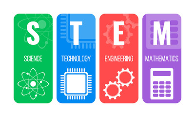 STEM Science Technology Engineering Mathematics logo