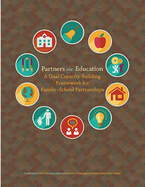Cover of Partners in Education A Dual Capacity-Building Framework for Family-School Partnerships