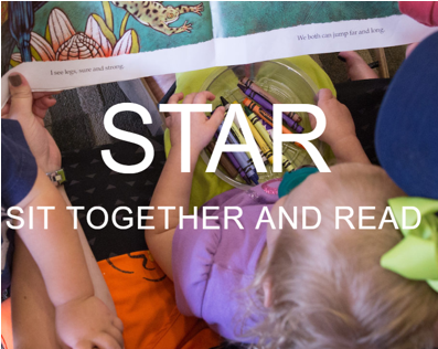 STAR Sit Together And Read logo