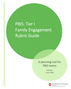 Ohio's PBIS Family Engagement Rubrics