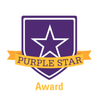 Schools can apply for a Purple Star designation for their commitment to serving military families