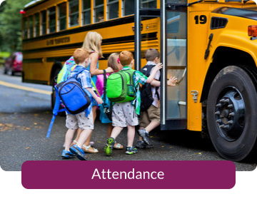 Button link to resources for Attendance