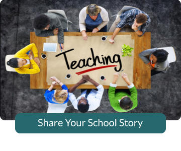 Button link to form to Share Your School Story