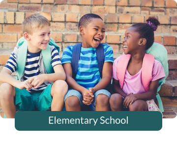 Button link to resources for Elementary School