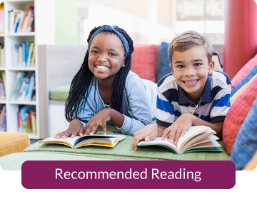 Button link to resources for Recommended Reading