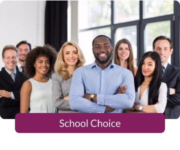 Button link to resources for School Choice