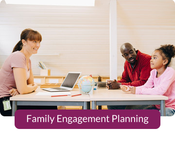 Button link to resources for Family Engagement Planning
