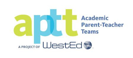 aptt Academic Parent-Teacher Teams a project of WestEd logo
