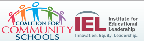 Coalition for Community Schools and Institute for Educational Leadership logos.