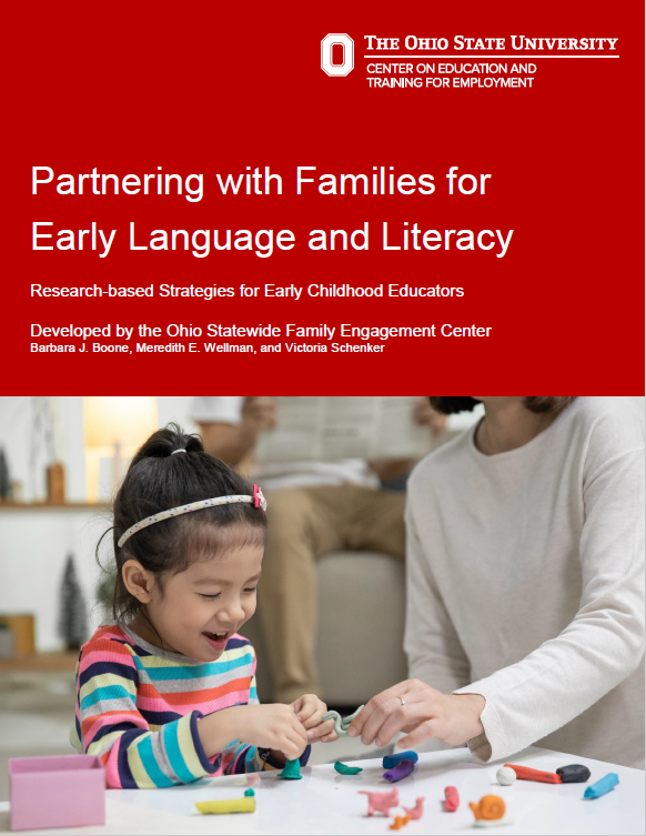 """Cover of """"Partnering with Families for Early Language and Literacy"""""""