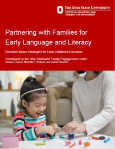 Report: Partnering with Families for Early Language and Literacy - Research-based Strategies for Early Childhood Teachers