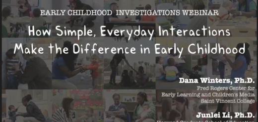Webinar from Fred Rogers Center