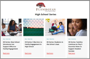 Recommended Reading: Effective Family Engagement in High School