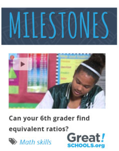 Videos for Families: Grade-level Expectations in Middle and High School