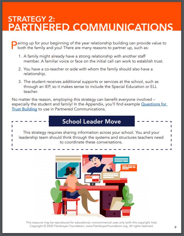 Strategy 2: Partnered Communication