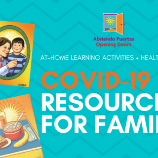 Front page of COVID-19 Resources for Families