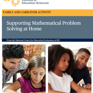 Cover of Supporting Mathematical Problem Solving at Home