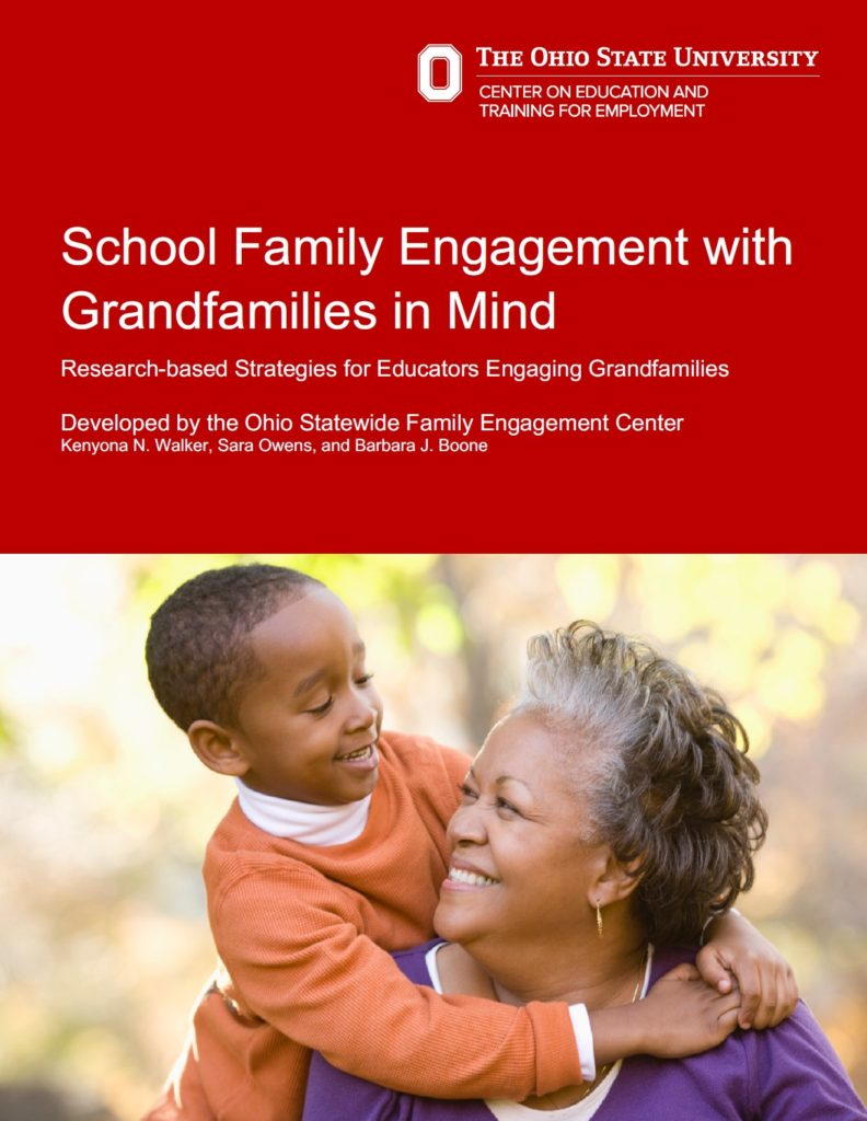 Cover School Family Engagement with Grandfamilies in Mind paper