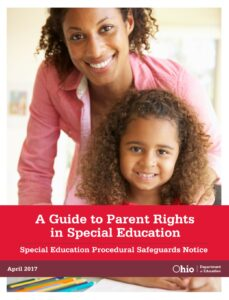 Ohio's Guide to Parent Rights in Special Education (Available in 13 languages)