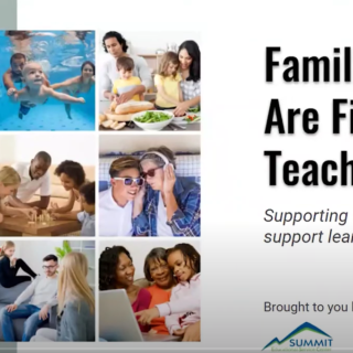 Cover of Families Are First Teachers: Supporting families who support learning