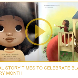 Cover of video of Virtual Story Times to Celebrate Black History Month