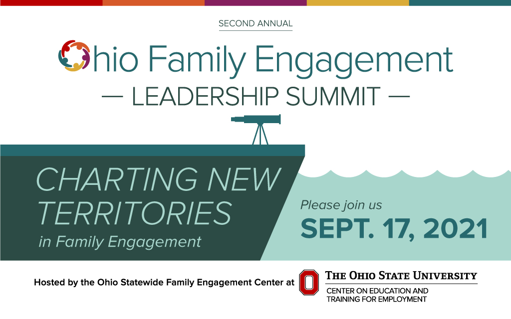 Leadership Summit Charting New Territories in Family Engagement September 17 2021 logo