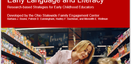 Partnering with Families for Early Language and Literacy Research Brief Cover Page