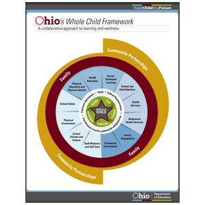 Logo for Ohio's Whole Child Framework: A collaborative approach to learning and wellness