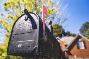 mailbox close-up