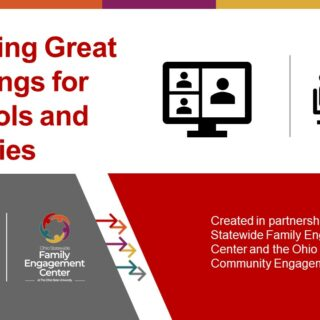 Creating Great Meetings for Schools and Families cover