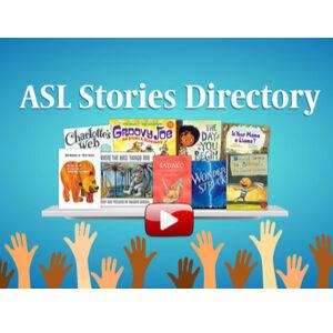 ASL Stories Directory logo